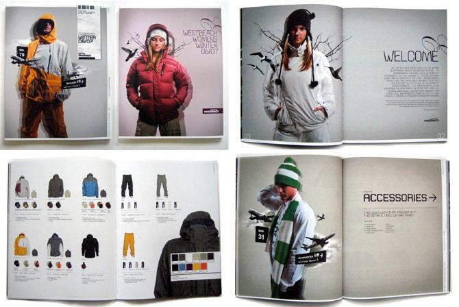 Дизайн для каталога одежды