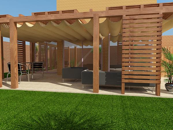 30 brilliant quinchos pergolas y terrazas - Terrazas con pergolas ...