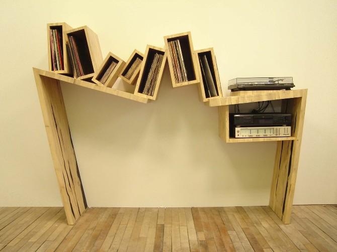 meuble vinyles