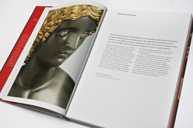 European Sculpture Book Design